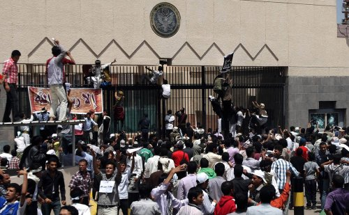 Air Force evacuating U.S. Embassy personnel in Yemen