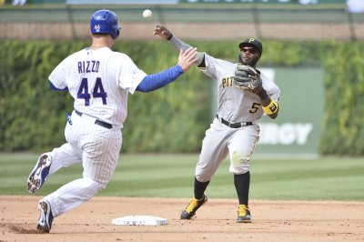 Pittsburgh Pirates win eighth straight as Chicago Cubs celebrate