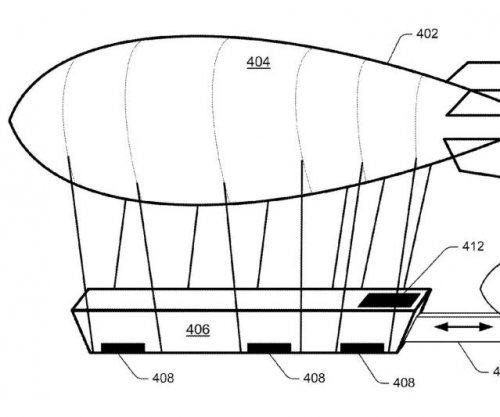 Amazon gets patent for floating blimp warehouse
