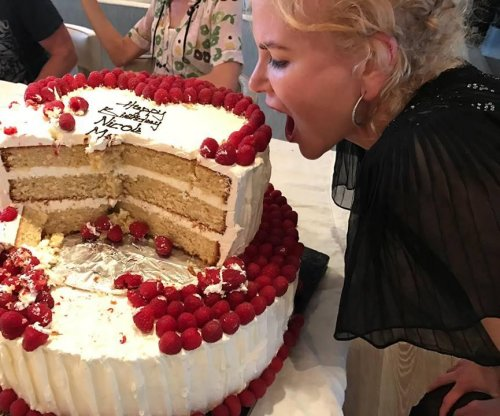 Nicole Kidman celebrates 50th birthday with her family