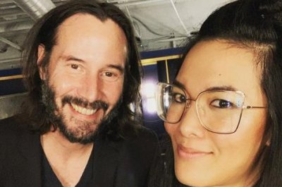 Ali Wong says Keanu Reeves bought 'a ton' of merch at her show