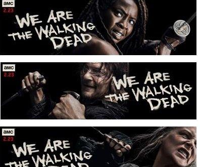 'The Walking Dead' key art features Alpha, Carol, Daryl, Michonne
