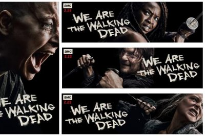 'The Walking Dead' key art features Alpha, Carol, Daryl, Michonne