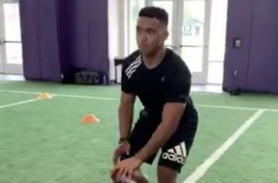 NFL Draft: Tua Tagovailoa posts video showing mobility, throwing