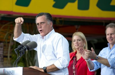 Romney to be nominated as Isaac rains on RNC
