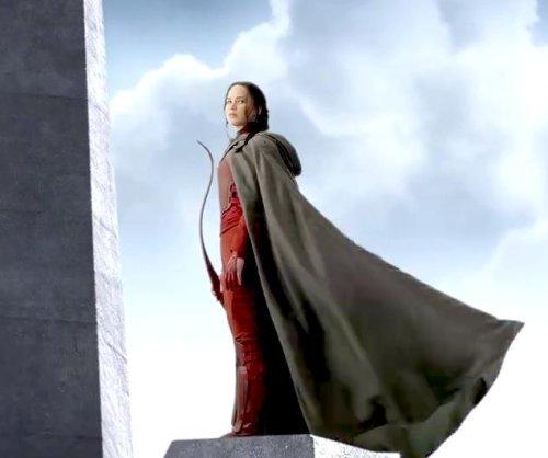 'Mockingjay' teaser features caped Jennifer Lawrence