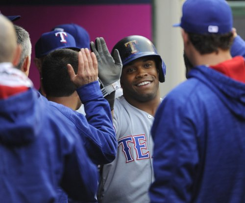 Texas Rangers will be without Delino DeShields against Los Angeles Angels