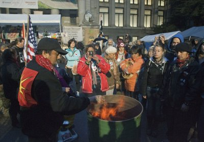 Canadian Occupy camps dwindling