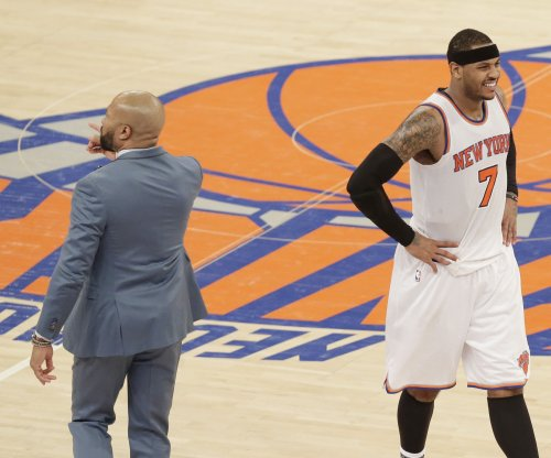 Carmelo Anthony tops Larry Bird's point total during New York Knicks' OT win