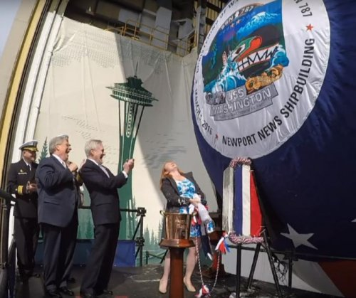 New Virginia-class submarine christened