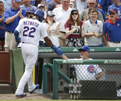 Jason Heyward homers as Chicago Cubs beat Milwaukee Brewers in 11 innings