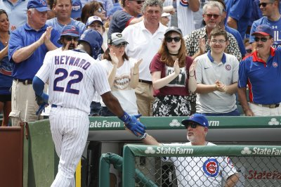 Jason Heyward homers as Chicago Cubs beat Milwaukee Brewers in 11 innings