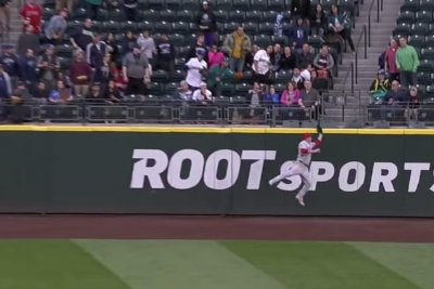 Mike Trout: Angels star robs Nelson Cruz, hits two bombs