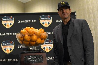 Wolverines head coach Jim Harbaugh: 'I'm staying at Michigan'