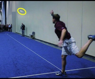 Man throws tortilla 54 feet, 5 inches to break world record