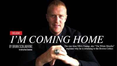 Ex-Celtic Brian Scalabrine trolls LeBron James with letter announcing Boston return