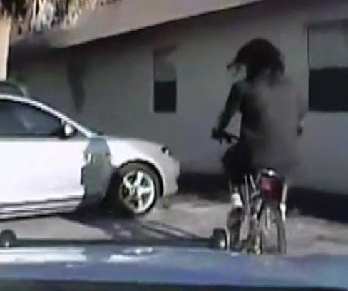 Dash-cam video shows unarmed man on bike shot by Fla. deputy