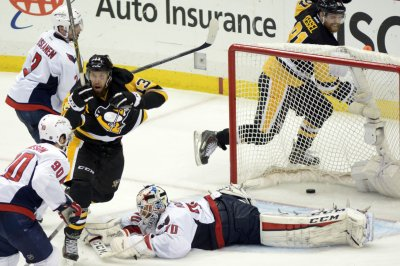 Pittsburgh Penguins eliminate Washington Capitals 4-3 in OT