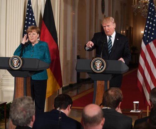 Trump, Merkel optimistic trade negotiations can be fair for both sides