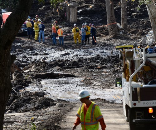 Rescue efforts end for California mudslide victims