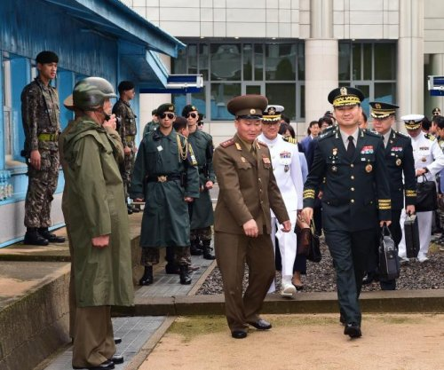 North Korea general scolds South Korea officials at Panmunjom