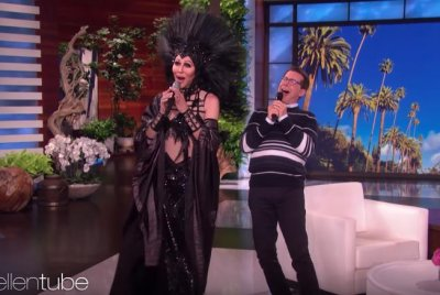 Sean Hayes, Cher sing 'If I Could Turn Back Time' on 'Ellen'