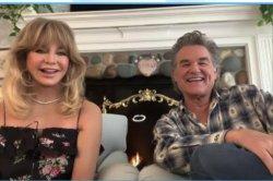 Goldie Hawn, Kurt Russell recall their love story on 'Ellen'