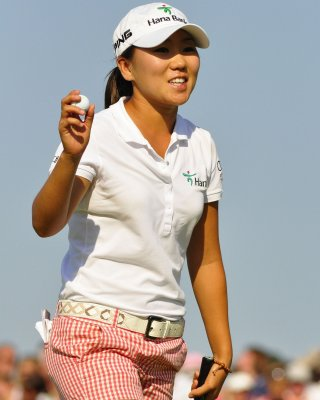 Kim's personal record worth LPGA lead