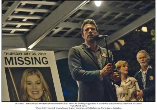 Gillian Flynn adapts 'Gone Girl' novel for the big screen