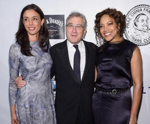 Drena De Niro joins father Robert De Niro at charity event