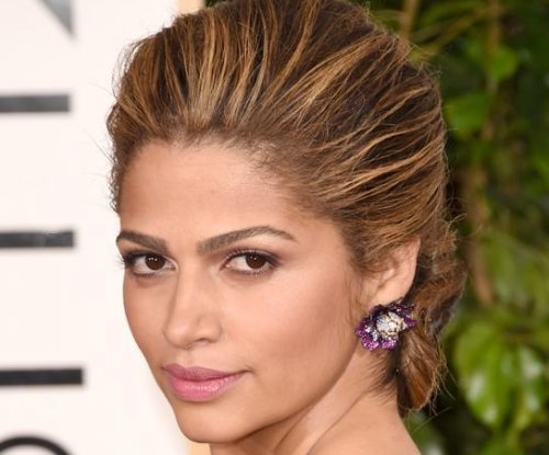 Camila Alves debuts blonder hair at 2015 Golden Globes