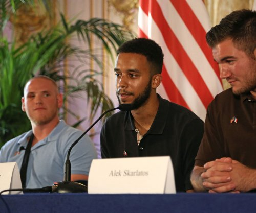 Airman hurt stopping France train attack recounts incident with comrades