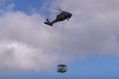 Sikorsky tests unmanned ground vehicle with unmanned Black Hawk