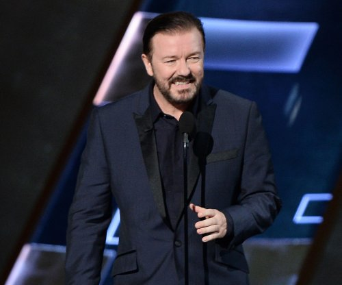 Ricky Gervais releases five new posters for 'Life on the Road'