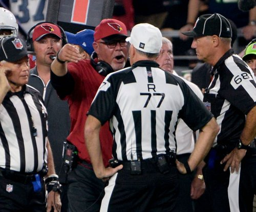 Arizona Cardinals' Bruce Arians rips non-call blocked field goal ruling