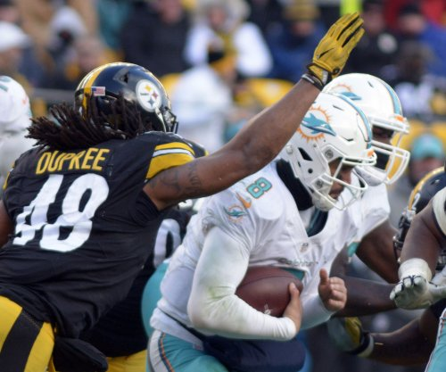 Steelers LB Bud Dupree gets minimum fine for hit on Dolphins QB Matt Moore
