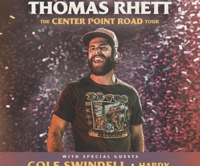 Thomas Rhett to launch 'Center Point Road' tour in May
