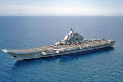 2 dead in Russian aircraft carrier fire
