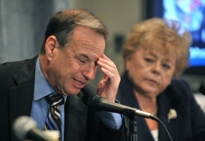 Filner sentenced to home confinement for fondling, kissing women