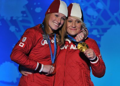Canada rallies to win two-woman bobsled gold