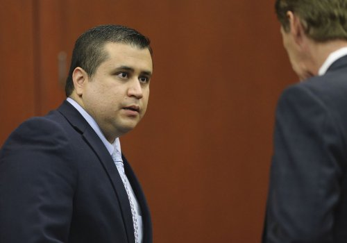 George Zimmerman spotted guarding guns for Florida mayoral candidate