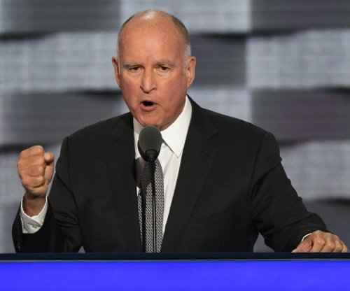DNC: California Gov. Brown says Trump, GOP 'dead wrong' on climate change