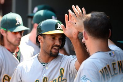Marcus Semien, Oakland Athletics slam San Francisco Giants in Bay Bridge Series opener