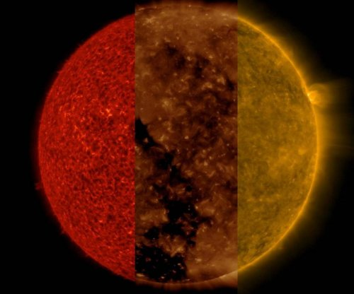 Solar Dynamics Observatory serves up the sun, three ways