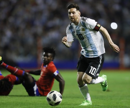 Lionel Messi gets hat trick, Argentina beats Haiti
