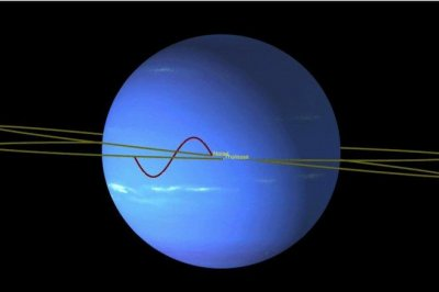 Pair of Neptune moons locked in 'dance of avoidance'