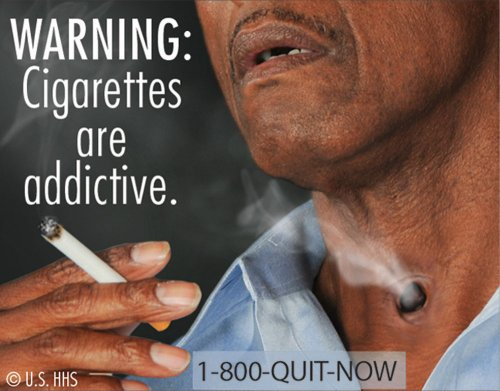 CDC starts graphic anti-smoking campaign