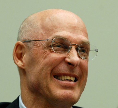Paulson pitches plan to House Republicans