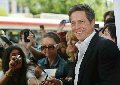 Hugh Grant becomes father for the third time, report says