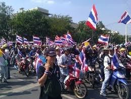 Thai officials relieved 'Bangkok Shutdown' has so far been peaceful